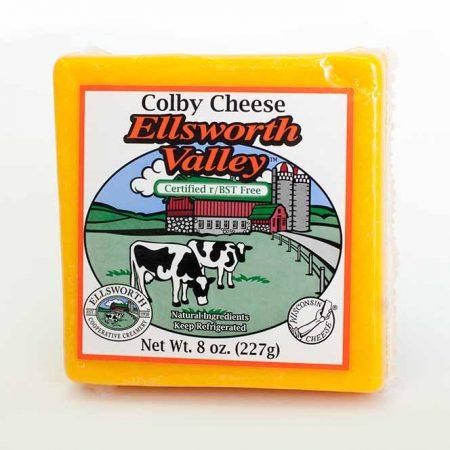 8 oz  Ellsworth Valley Monterey Jack Cheese   Ellsworth Cooperative