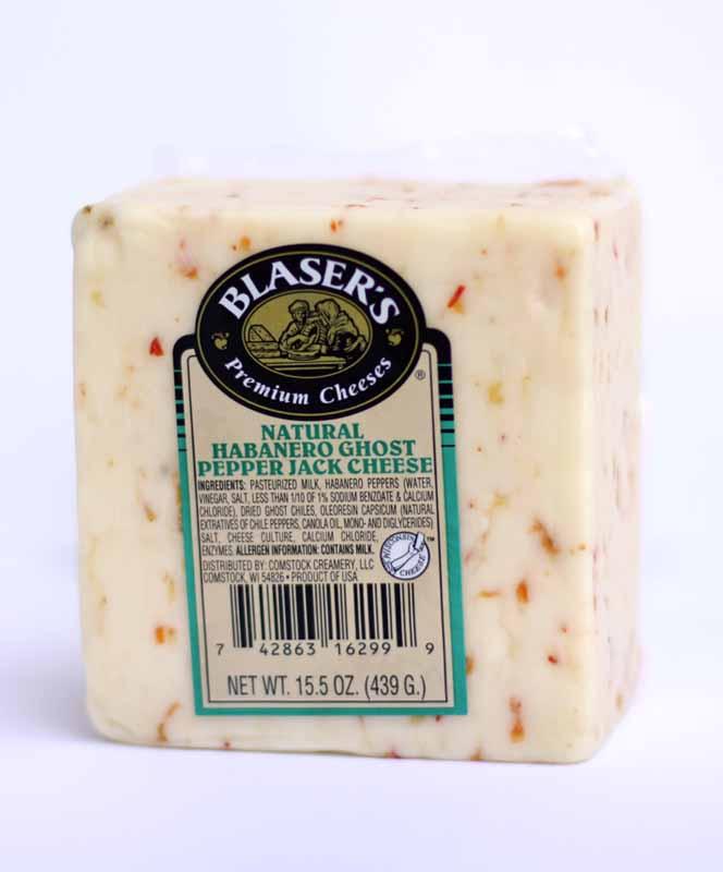 15 5 oz  Blaser's Habanero Ghost Pepper Cheese