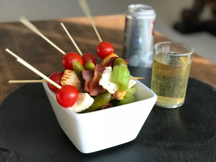 Bloody Mary Skewer