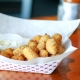 Buttermilk Breaded White Cheddar Cheese Curds