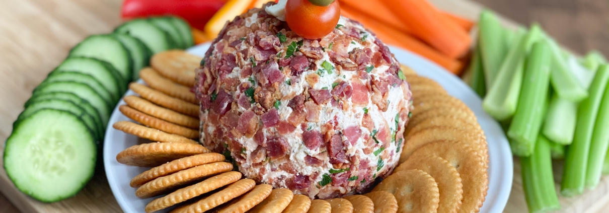 Bloody Mary Cheese Ball